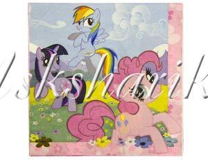 Салфетка My Little Pony 33см 16шт/A