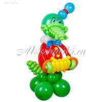 """Фигура из шаров """"Крокодил Гена"""""""