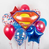 """Букет из шаров """"Супермену"""""""
