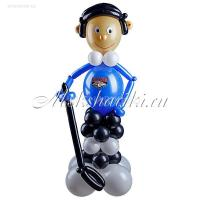 "Фигура из шаров ""Хоккеист"""