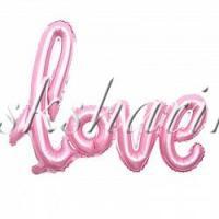 "Надпись ""Love"" розовая"