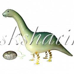 """Ходячая Фигура """"Динозавр с яйцом"""""""