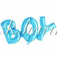"""Надпись """"Boy"""" голубая"""