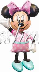 """Ходячая фигура """"Минни в розовом платье"""""""