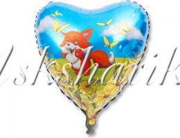 "Сердце ""Лисенок на поляне"""