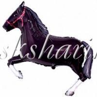 """Фигура """"Лошадь черная"""""""