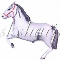 """Фигура """"Лошадь белая"""""""