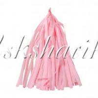 Тассел гирлянда розовая