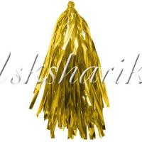 Тассел гирлянда золото фольга