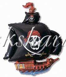 """Фольгированная фигура """"Корабль Пиратский"""""""