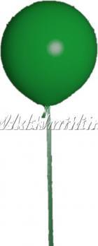 """Большой шар """"Зеленый на атласной ленте"""""""