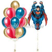 """Готово решение """"Супермен в полёте с шарами №1"""""""