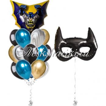 """Готово решение """"Бэтмен в полёте + маска """""""