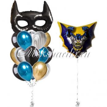 """Готовое решение """"Бэтмен в полёте с маской"""""""