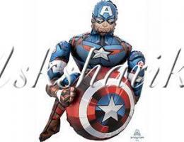 """Ходячая фигура """"Мстители Капитан Америка"""""""
