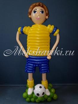 "Фигура из шаров ""Футболист №1 """