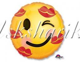 Улыбка Смайлик в поцелуях S40
