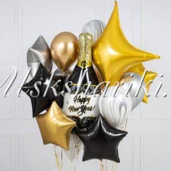 "Набор шаров ""Happy New Year"""