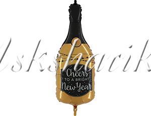 ФИГУРА CHEERS NEW YEAR Бутылка шамп